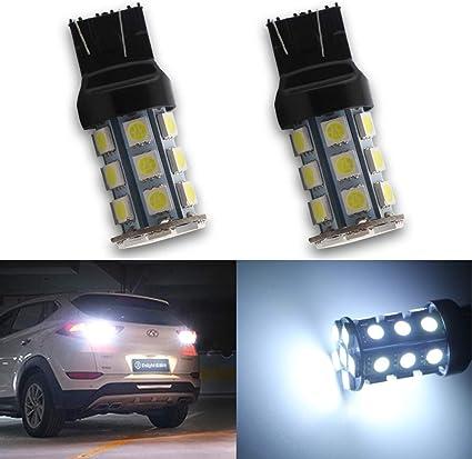 2x W21//5W 7443 T20 Standlicht Xenon Weiß Lampe Glühlampen für Audi A1