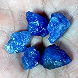 58.30Ct Natural Unheated Blue Tanzanite Gem Crystal Rough Mineral Specimen WholeSale Lot 5Pcs