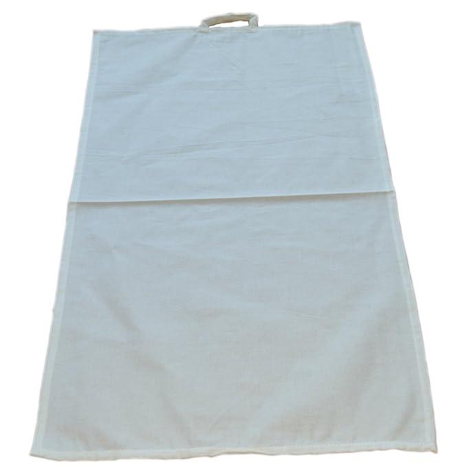 Baumwoll Geschirrtuch Küchentuch aus Baumwolle natur, blanko zum ...
