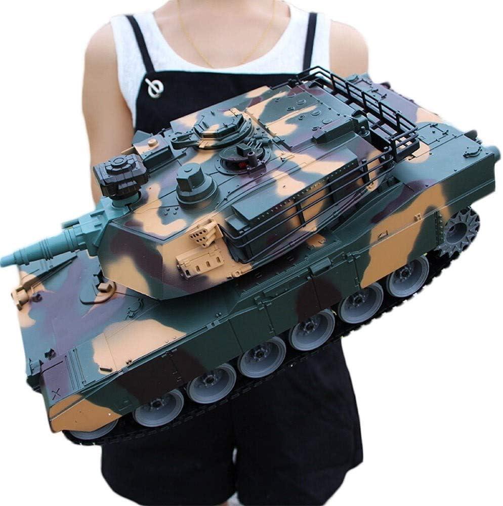 Ycco De Carga USB Sorpresa Comandante Auto Man Modelo De Control Remoto Principal Tanque De Batalla Rastreadores Carro De Juguete RC Panzer Del Tanque Uno Y Dieciocho Minutos Gigante Alemán Del Tigre