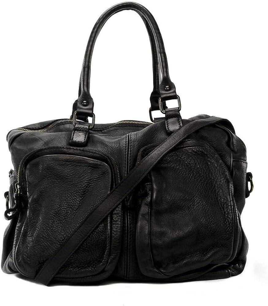 mod/èle Miss Flynn OH MY BAG Sac port/é /épaule Cuir port/é /épaule et bandouli/ère de travers femmes en v/éritable cuir de vachette haut de gamme fabriqu/é en Italie
