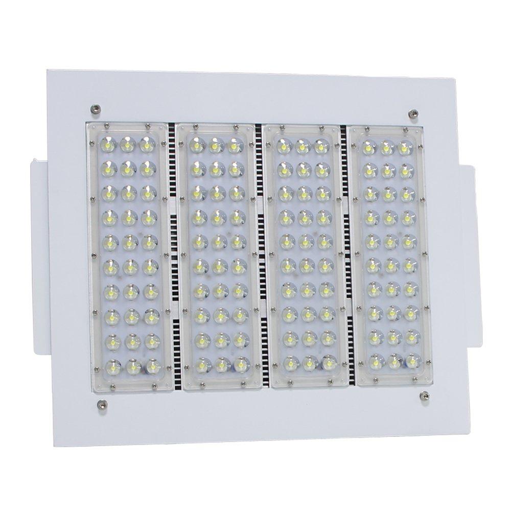 (Pack of 4) 160W LED Gas Station Lamp 6000K Daylight White Retail Stores Shop Commercial Celling Lighting 110V 120V 208V 220V 240V 277V Canopy Lights