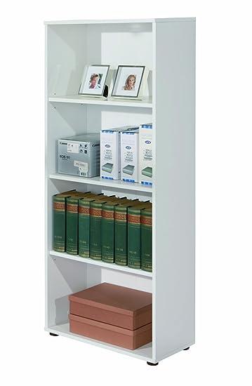 Links 13500030 Regal weiß Bücherregal Wandregal Aktenregal ...
