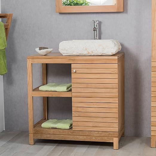 wanda collection Mueble para Cuarto de baño de Teca ...