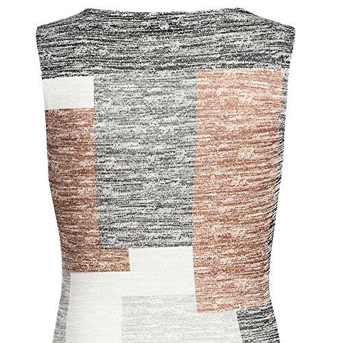 khujo - Vestido - Vestido - Sin mangas - para mujer mehrfarbig (mehrfarbig ss6urba)