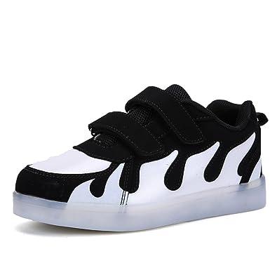 best sneakers 83f1b 86611 Kinder Schuhe mit Licht LED Schuhe USB Aufladen Sportschuhe ...