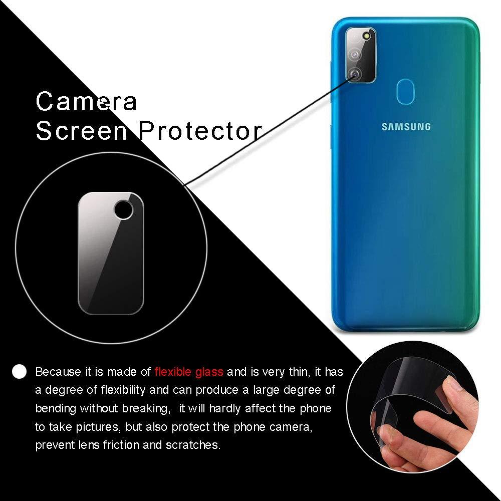 Kamera Objektiv Displayfolie f/ür Samaung Galaxy M30S Anti-Kratzer Kamera Schutzglas 2 St/ück Ultra-klar YuhooTech Kamera Panzerglas Schutzfolie f/ür Samaung Galaxy M30S Anti-Staub