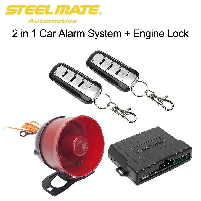 Steelmate SK02 - Sistema de seguridad de alarma de coche ...