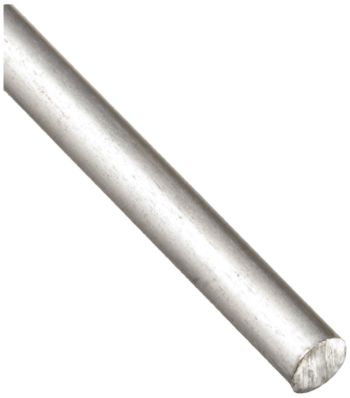 "1100 Aluminum Wire, Unpolished (Mill) Finish, Annealed, Soft Temper, Standard Tolerance, ASTM B211, 0.11"" Diameter, 120' Length 61rGCyAZ8KL"