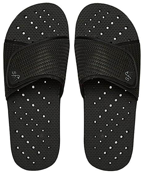 1b5dbe7b6 Amazon.com  Showaflops Mens  Antimicrobial Shower   Water Sandals ...