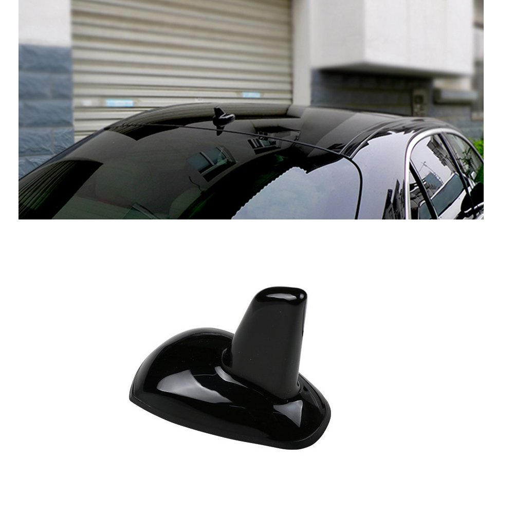 Eaglerich New GPS Style Shark Fin Adhesive Decorative Dummy Antenna Aerial For Mercedes for Benz car styling Black New Dropping Shipping