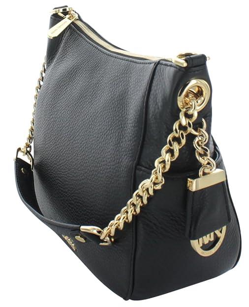 6e2ffa7f9c55 Michael Kors Chandler Medium Women's Leather Shoulder Bag Handbag:  Handbags: Amazon.com