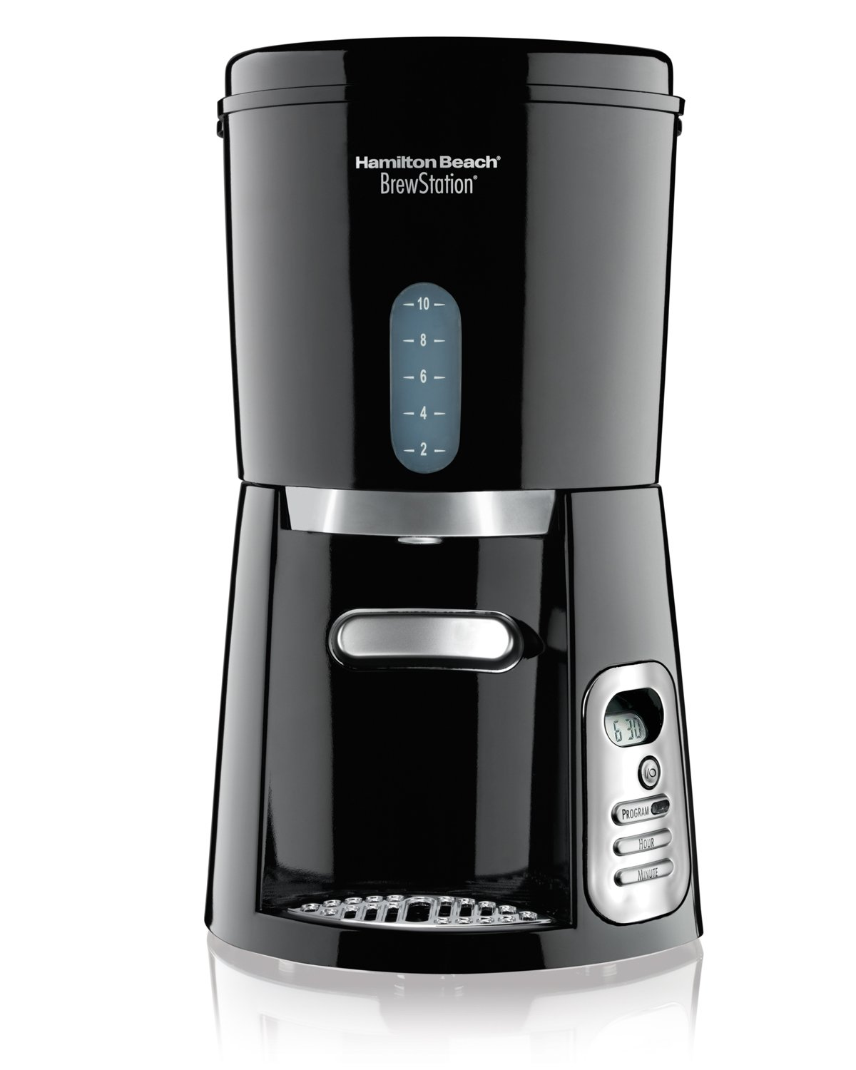 Hamilton Beach 10-Cup Coffee Maker, Programmable BrewStation Dispensing Coffee Machine (47380)