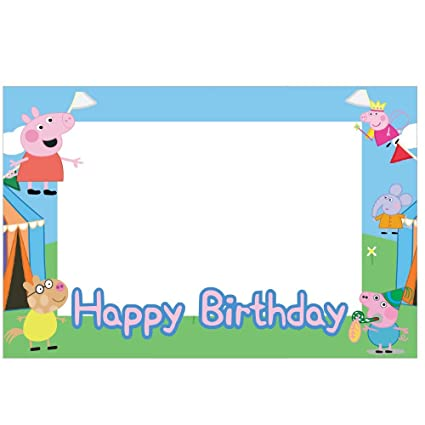 Buy Party Propz Peppa Pig Photo Frame/ Photobooth (2ft) Online at ...