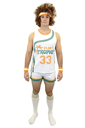 semi pro jackie moon official halloween party costume shirt pants wig socks wristbands