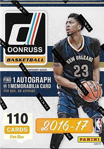 2016 2017 Donruss NBA Basketball Series Unopened Blaster Box of Packs Featuring One AUTOGRAPH or MEMORABILIA Card Per Box!! -