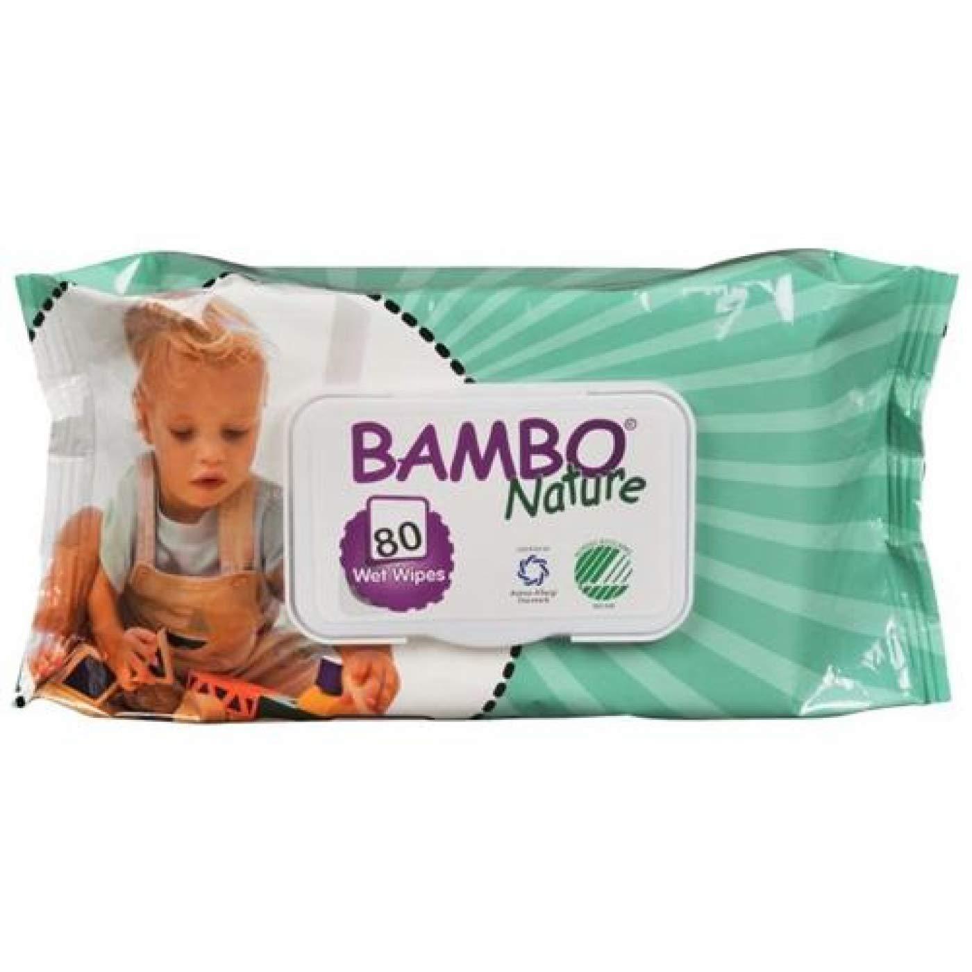Toallitas Bebe Ecológicas Bambo Nature, Pack 12 Paquetes de 80 Uds (960 Toallitas): Amazon.es: Bebé