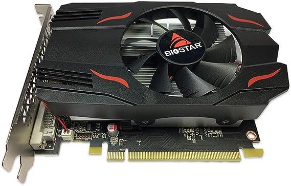Tarjeta gráfica AMD Radeon Biostar RX 550 D5 4 GB ...
