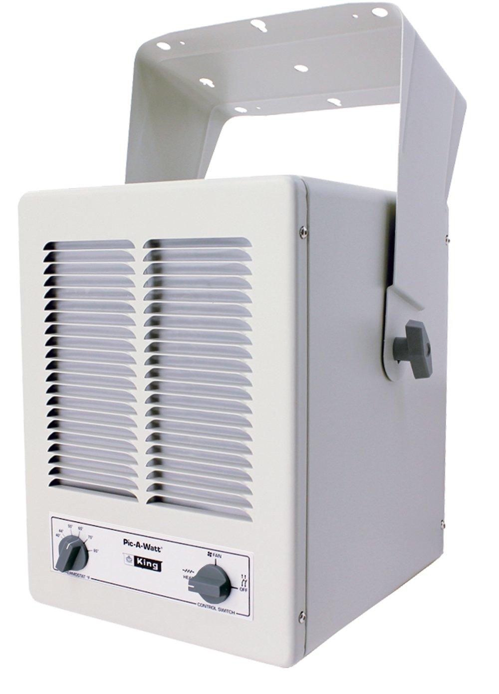 King Kbp2406 5700 Watt Max 240 Volt Single Phase Paw Unit Heater Electric Furnace Wiring Diagram Almond Floor Heating Registers