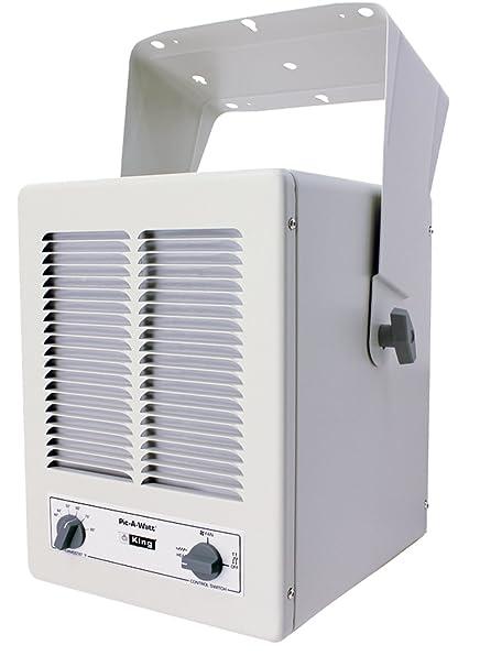 King Kbp1230 2850 Watt Max 120 Volt Single Phase Paw Unit Heater