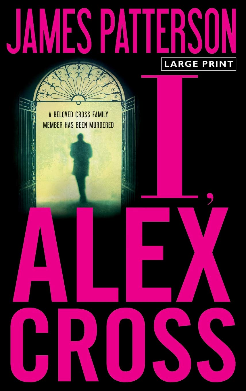 alex cross series in reading order