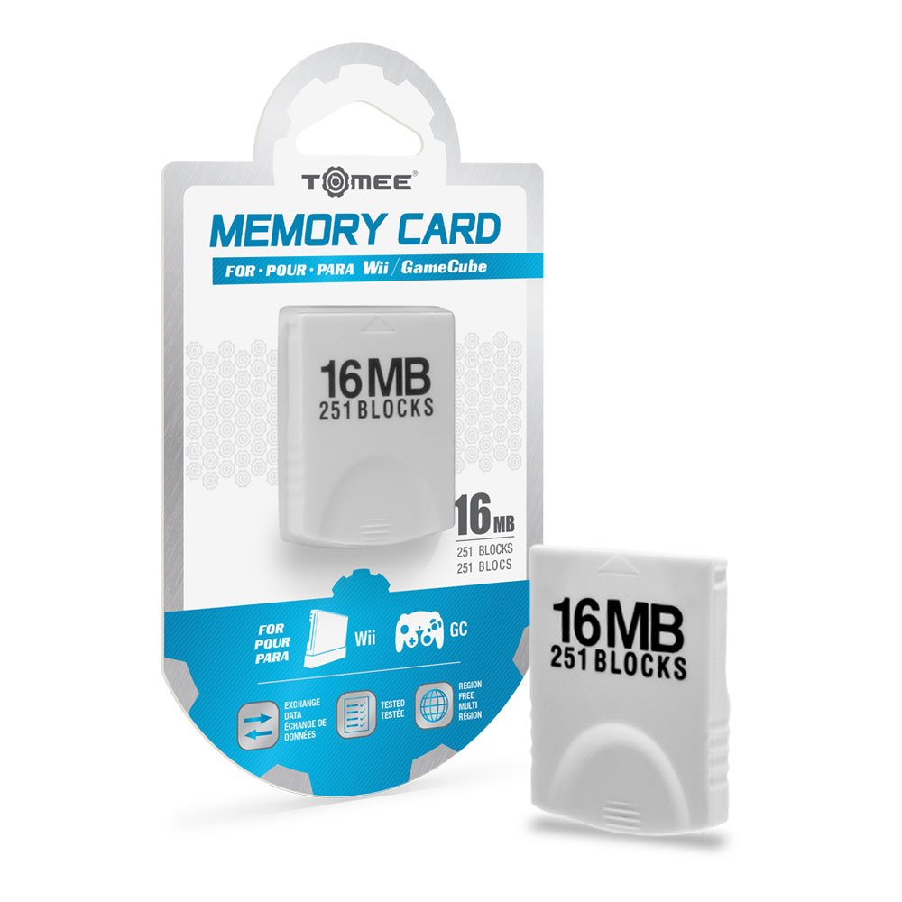 Tomee 16MB Memory Card for Wii/ GameCube by Tomee
