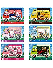 6 Pack Sanrio NFC Tag Game Cards, Collaboration Pack for Animal Crossing, Fully Compatible with Switch/Switch Lite/New 3DS (Mini Size)