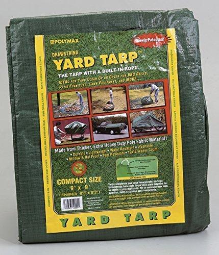 Gosport Tarpaulin Finish Size: 9 ' X 9 ' Poly Fabric Tear Proof Washable Green Bagged by KWANG SUNG AMERICA INC.