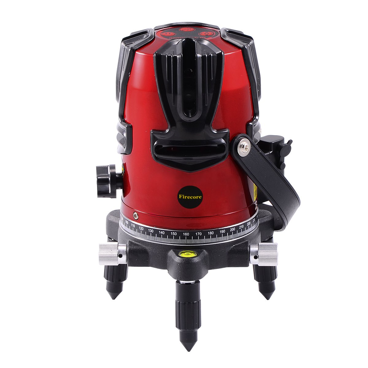 Firecore 8ラインレーザー墨出し器 FR8 4垂直 4水平 2増強ポイント 1地墨ポイント /レーザー墨出器 /建築/測量