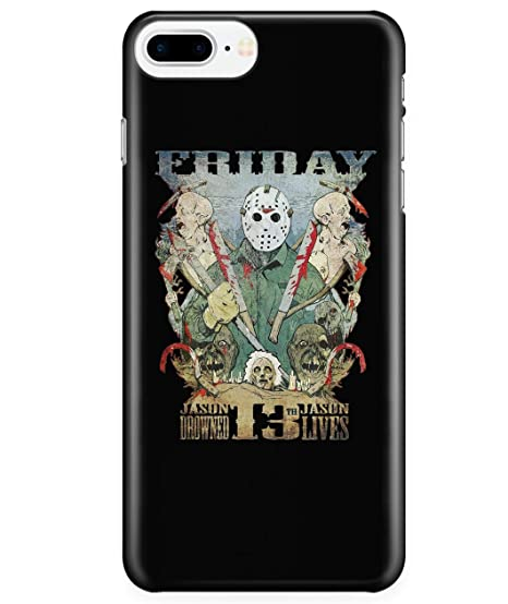new product d2311 1f2df Amazon.com: iPhone 7 Plus/7s Plus/8 Plus Case, Jason Voorhees Friday ...