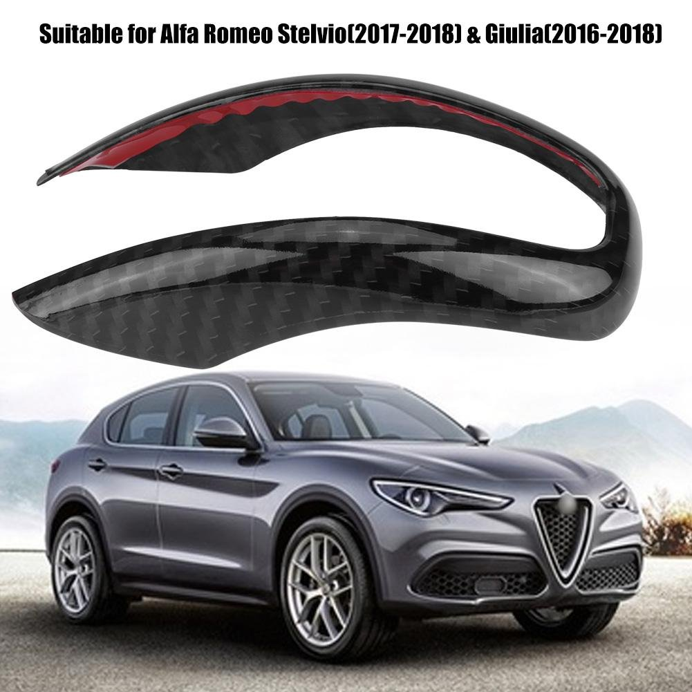 2016/ /–/ 2018 e Giulia Interni auto pomello del cambio Frame cover Trim for Stelvio 2017/ /–/ 2018
