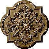 Ekena Millwork CM20BOMMF Bonetti Ceiling Medallion, 20'' OD x 1 3/4'' P, Mississippi Mud