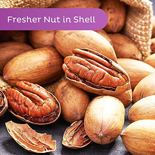 Oh! Nuts Pecans in Shell | Low-Carb, High-Protein Keto Snacks | Resealable Stay-Fresh 2-Pound Bulk Bag | All-Natural, Premium Nuts in Shell Without Salt or Sugar | Healthy Vegan, Gluten-Free Snacking 3