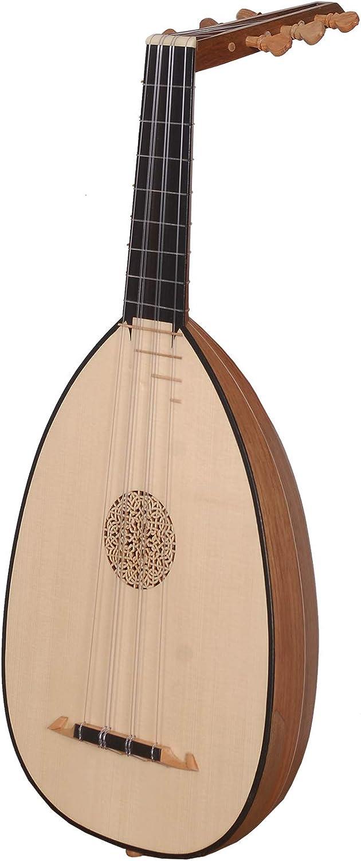 Lute Ukelele de 6 cuerdas de nogal tenor: Amazon.es: Instrumentos musicales