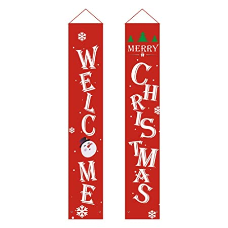 Qualilty Cartel navideño de bienvenida para colgar en la ...