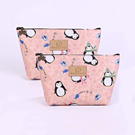 ZoCr Make-Up Cosmetic Tote Bag Carry Case