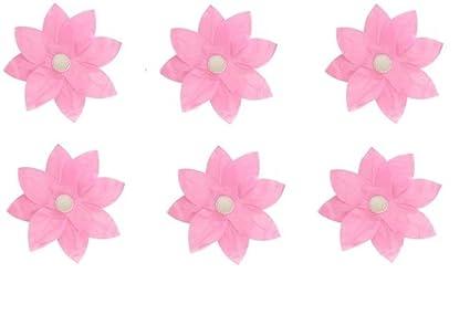 Amazon pack of 6 pink floating lotus paper flower outdoor pack of 6 pink floating lotus paper flower outdoor patio decor lanterns mightylinksfo