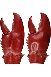 Red Lobster Latex Mask Gloves Claws Pincers Sea Creature Fancy Dress Accessory