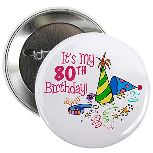 CafePress Its My 80th Birthday Party Hats 225quot