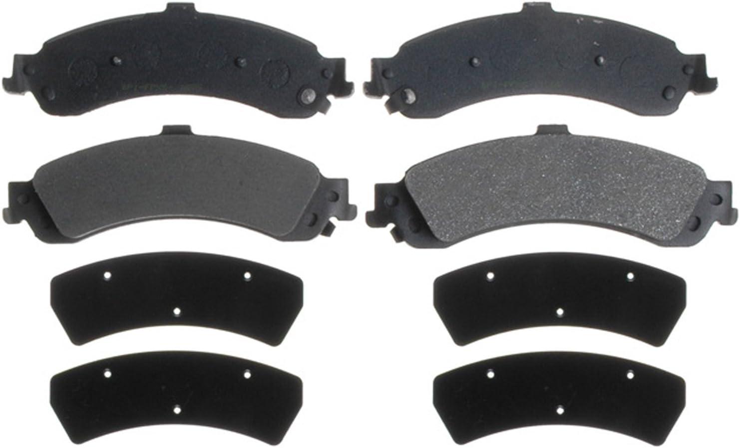ACDelco 14D834M Rear Semi Metallic Brake Pads