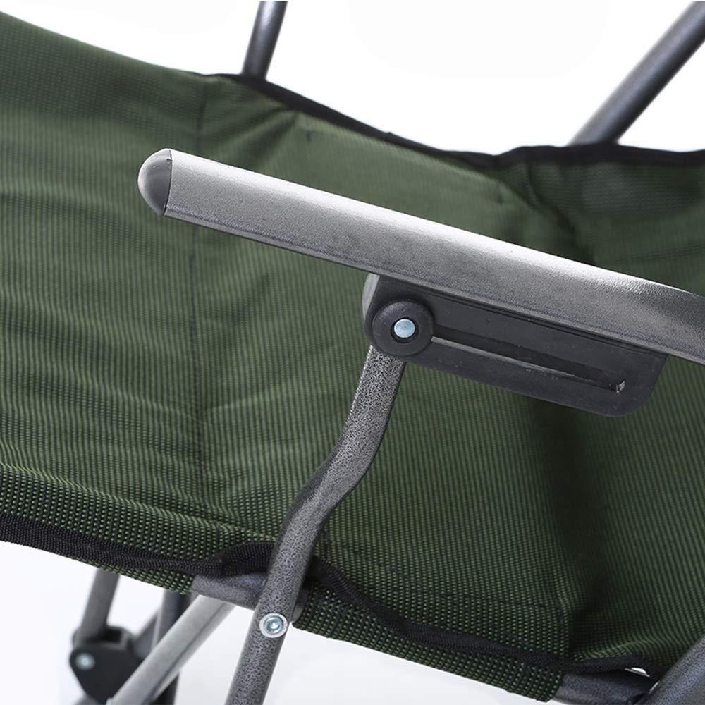 Sport Freizeit Dunkelgrüner Strand Lounge Chair Fischerei Stuhl
