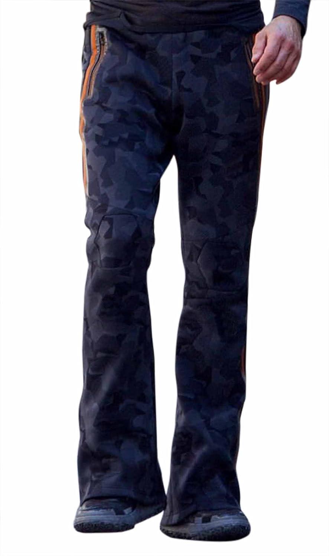 Fashion_First Herren Jacke Schwarz Camouflage