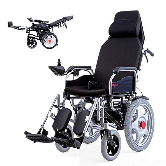 Amazon.com: Dapang Silla de ruedas eléctrica portátil de ...