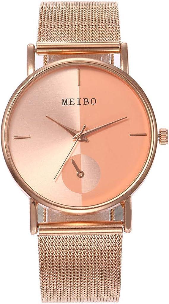 MSSweet-Electrónica HucodeVan Moda Casual Reloj de Pulsera ...