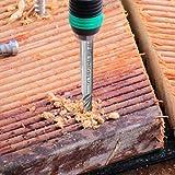 10 pcs 4-Flute End Mill Bits, AFUNTA