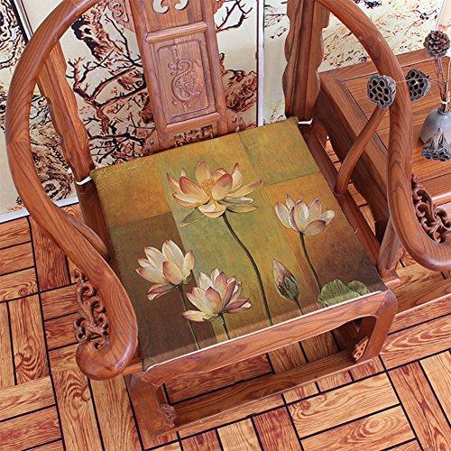 MUXI Chair Pads Chair pad/mahogany sofa cushion/dining chair cushion-B (Mahogany Wicker Chair)