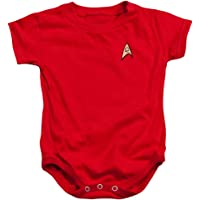 Infant: Star Trek - Enfineering Uniform Infant Onesie Size 6 Mos