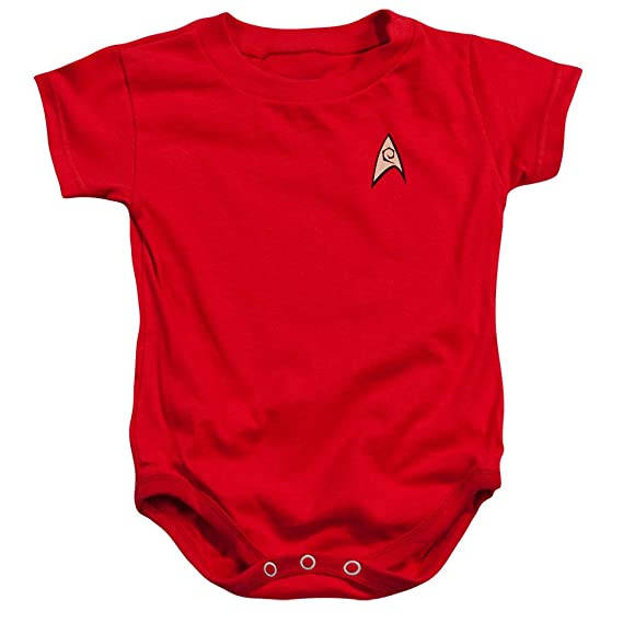 Amazon.com: Star Trek Command Uniform Infant Snapsuit: Clothing