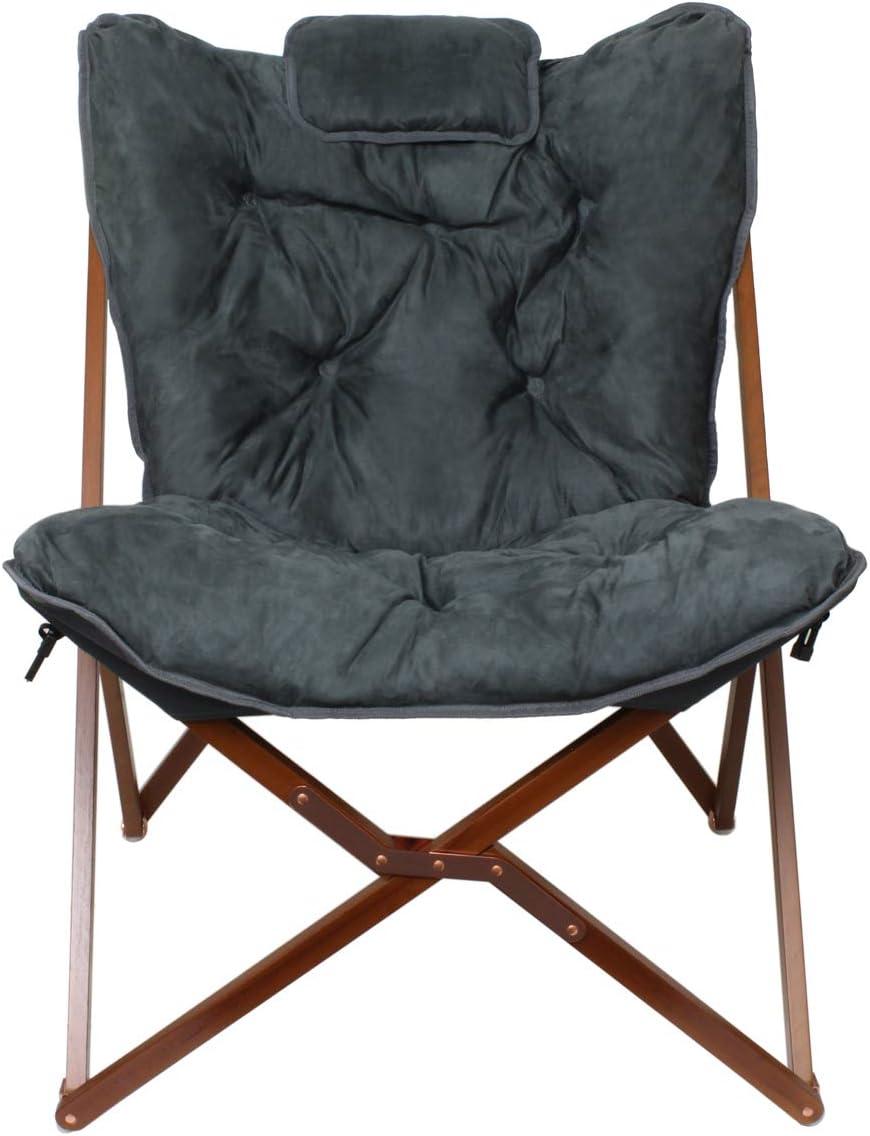 Zenithen Limited Gray Butterfly Chair