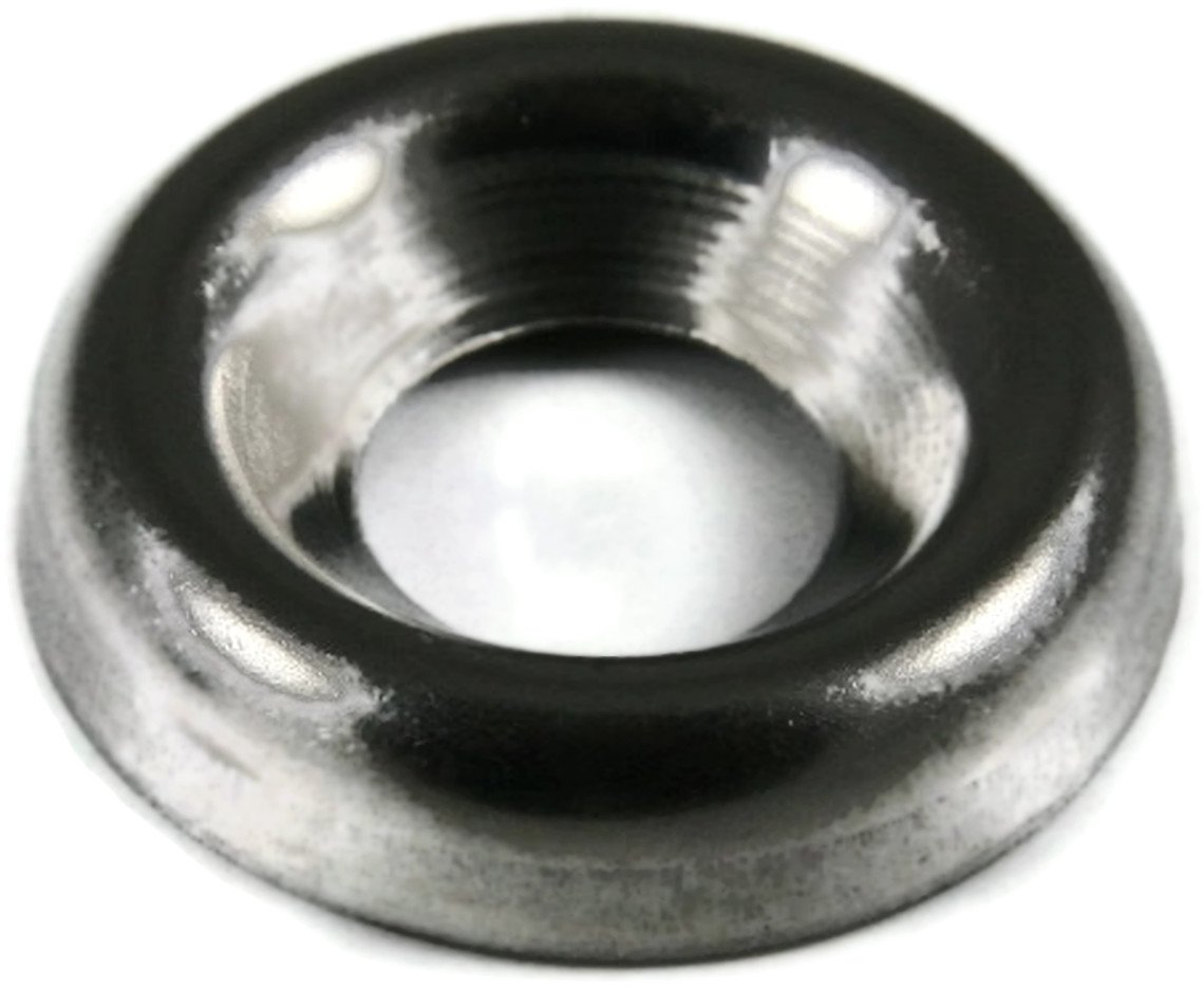 Finishing Cup Washer 410 Stainless Steel - #8 Qty-250
